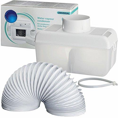 Spares2go Ventilación Del Condensador Caja Kit de manguera para Indesit Ventilado Secadora