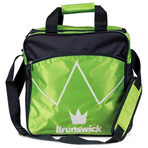 Brunswick Bowling-Tote's Blitz Single, Limettengrün/Schwarz, One Size