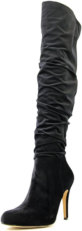 INC International Co Thalis Women US 6.5 Black Over the Knee Boot