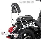 Hepco&Becker - Respaldo Sin Parrilla Porta Equipaje Para Moto Guzzi Nevada 750 Anniversario Ab 2010
