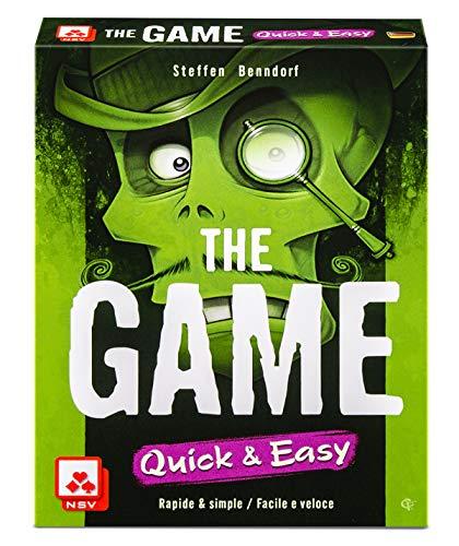 NSV - 4099 - The Game - Quick and Easy - International - Kartenspiel