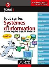 Tout Sur Les Systèmes D'information - Grandes, Moyennes Et Petites Entreprises de Jean-François Pillou