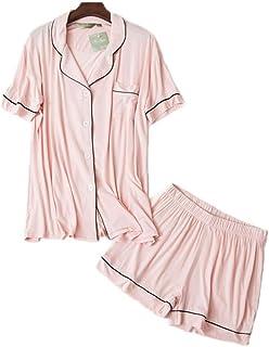 パジャマ レディース 夏 メンズ ような肌触り 上下セット 下着 パジャマセット こなれ感 寝間着 便利服 ハーフパンツ 無地 ルーズ 上品 コンフォー デイリー 大きいサイズ XL XXLカップルパジャマ