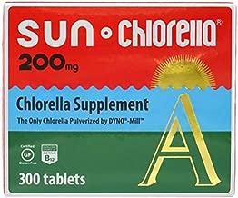 SUN CHLORELLA - Chlorella Supplement, Vitamin-Enriched and Vegan-Friendly Tablets (200 Mg - 300 ct)
