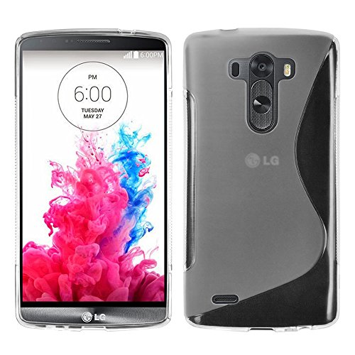 LG G3Funda HCN Phone® S-Line TPU Gel Silicona Carcasa Flexible para LG G3, compatible con LG G3