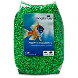 Petco Brand - Grava para acuario Imagitarium Neon Green, 5 libras