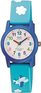 Q&Q Unisex-Child Quartz Watch, Analog Display and Resin Strap VR99J005Y