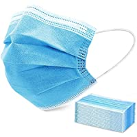 50-Pack Sable 3 Ply Disposable Protective Face Masks