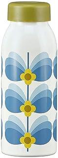 Orla Kiely - Botella de acero inoxidable con aislamiento (500 ml), diseño de mariposa