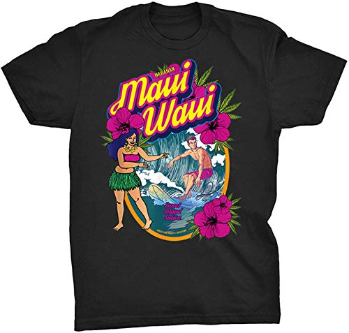 Marijuana Maui Waui Kona Shirt-945022 - Front Print T Shirt for Men and Women