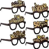 50th Birthday Decorations Party Eyeglasses...