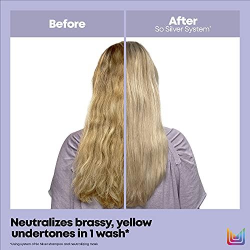 MATRIX Total Results So Silver Color Depositing Purple Shampoo For...