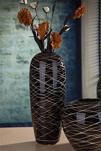 hoge zwarte vaas ikea