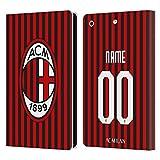 Head Case Designs AC Milan Coutume Personnalisé Home 2019/20 Kit Coque en Cuir à Portefeuille...