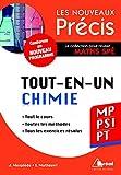 Chimie MP/PSI/PT - Conforme au programme 2014 - Précis tout-en-un - Cours - Méthode - Exercices