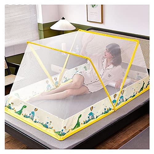 Mosquitera Plegable Sin Fondo Cubierta Portátil Para Mosquitos Fácil Instalación De Mosquiteras En Camping Y Al Aire Libre Para Cama De Adultos/cama De Bebé/techo/campo (3,100 * 190 * 80cm)