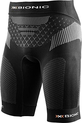 X-Bionic Running Man Twyce Ow Short de Course pour Homme, Legging S Noir/Anthracite