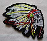 Indian Chief Skull...image
