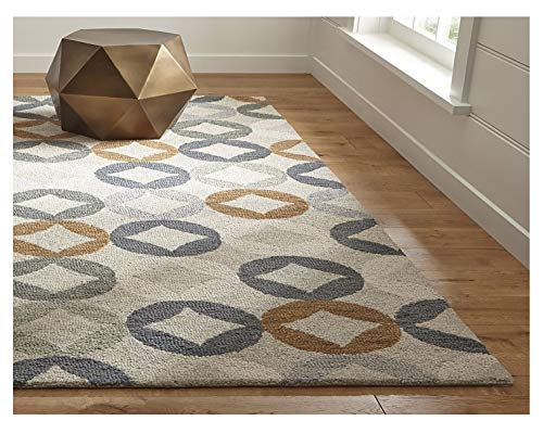 Crate and Barrel Destry Contemporary Handmade 100% Wool Rugs & Carpets (8'x10')