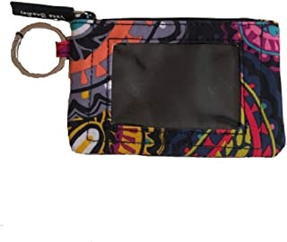 Vera Bradley Women's Zip ID Case Twilight Paisley