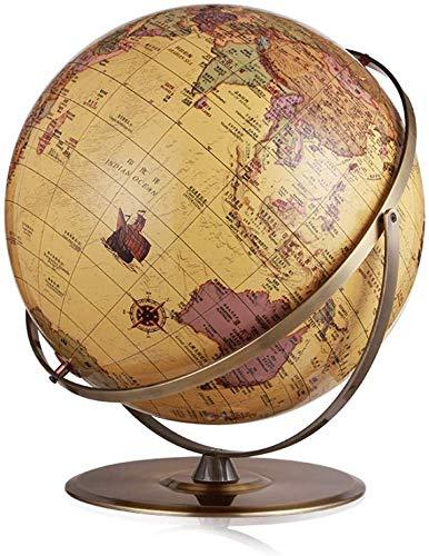 MKKSLR Schön Weltkugel Desktop Geographic Interaktive Globen Ornament für Lernspielzeug Bürobedarf Innendekorationen (20 \'/ 50 cm Durchmesser)