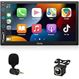 Car Stereo Compatible with Apple CarPlay, Double Din 7'...