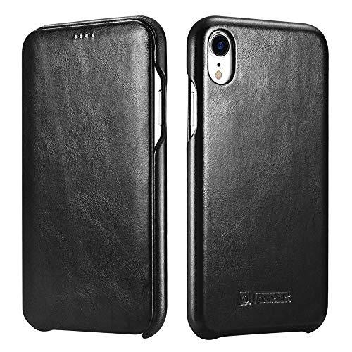 iPhone 7Plus case, Mangix Icarercase [vintage Classic Series] lusso Premium in vera pelle custodia cover posteriore con [ultra slim] per Apple iPhone 7Plus 14cm Cruz V2 Fresh Foam