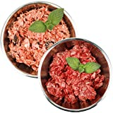Barf-Snack biologisch artgerechtes Rohfutter - Sparpaket Fisch & Rind mit Knorpel Gefrierfutter/Frostfutter für Hunde & Katzen