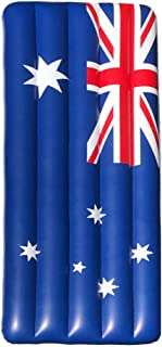 Giant 6ft Inflatable Australian Flag Pool Float for kids and Adults. Use on Patriotic Australia Day, Christmas Day or at S...