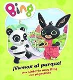 Vamos al parque! (Un cuento de Bing): Una historia muy Bing con pegatinas