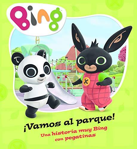 ¡Vamos al parque! (Un cuento de Bing): Una historia muy Bing con pegatinas