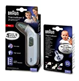 Braun Thermomètre auriculaire infrarouge ThermoScan3 IRT3030 &...