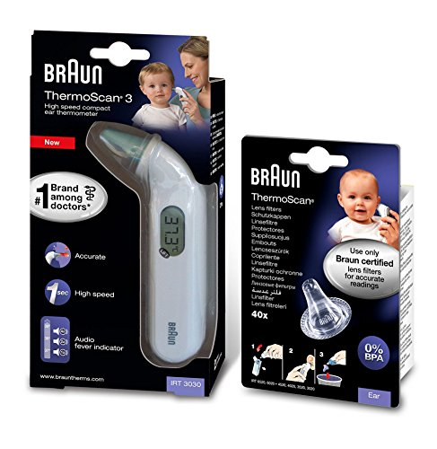 Braun Thermomtre auriculaire infrarouge...