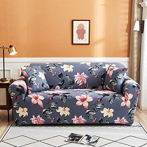 PPMP Funda de sofá elástica para Sala de Estar Funda de sofá elástica Funda de sofá elástica Funda de sillón de Esquina en Forma de L A9 2 plazas