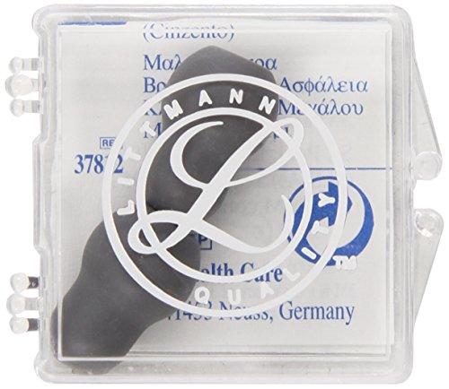 3M Littmann 37812 Soft-Ohroliven zum Aufstecken, groß, Grau set