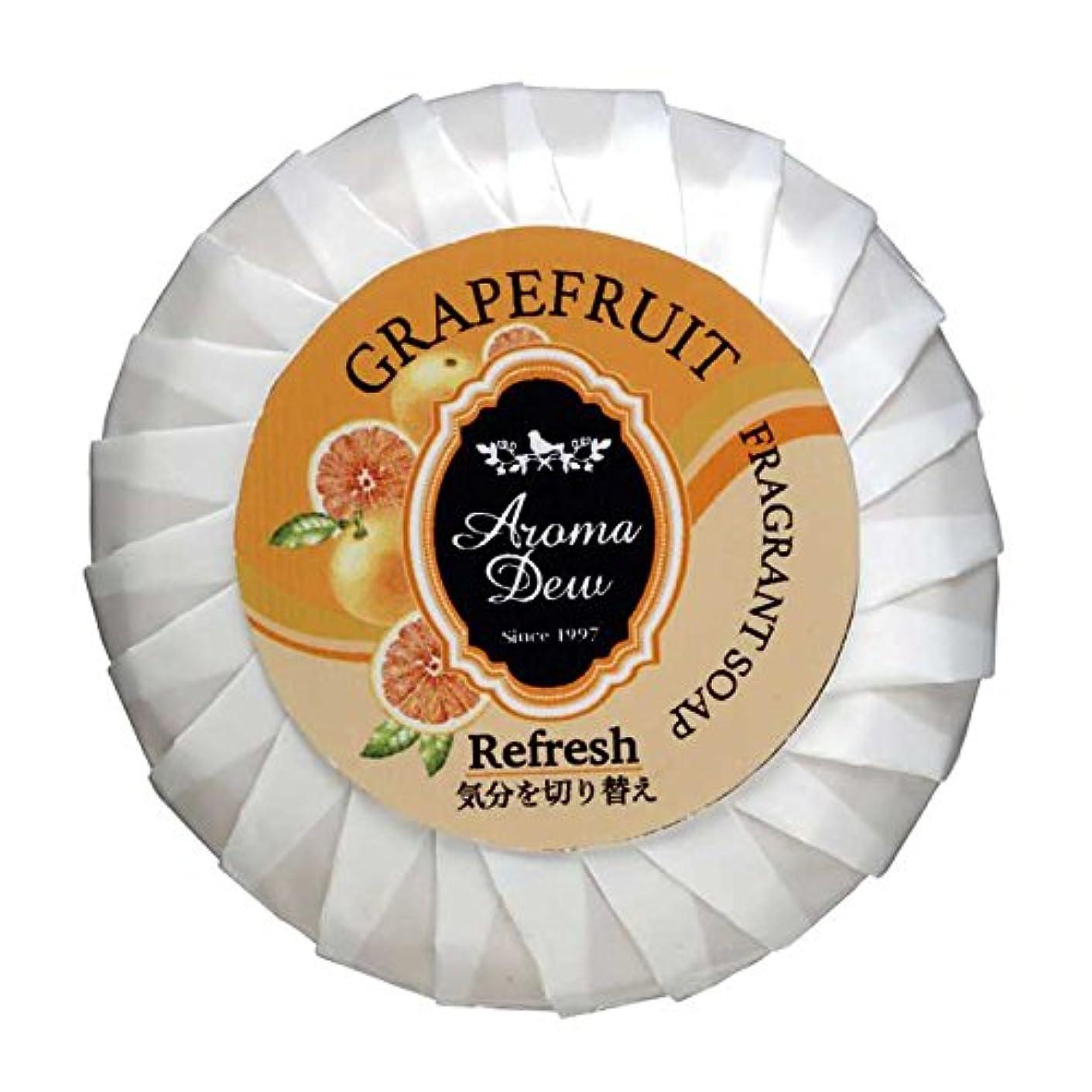 電気気候逆にアロマデュウ フレグラントソープ グレープフルーツの香り 100g