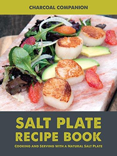 Charcoal Companion Livre de Recettes pour Pierres à sel CC6057-multicolore, Multicolore, 1,5 x 25 x 15 cm