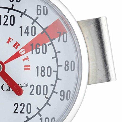 KitchenCraft Milk Thermometer, Stainless Steel