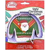 Ugly Christmas Sweater Cookie Cutter - Stainless Steel