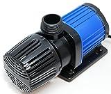 HSBAO DEP-4000 吐出量4000L/H (毎分66L) 揚程3.5m DCポンプ 水中ポンプ 水槽ポンプ 省エネ 低騒音 99段階流量調整 オーバーフロー水槽に最適40