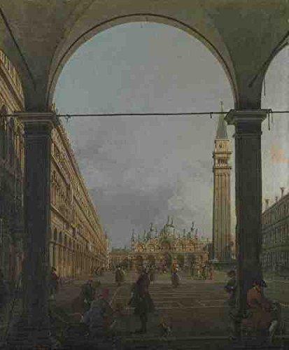 Canaletto Venice Piazza San Marco A3 Box Canvas Print