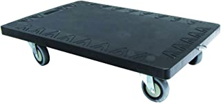 T-EQUIP - Embase roulante de transport, capacité de 250kg, Noir, 61x41,5x17,3cm