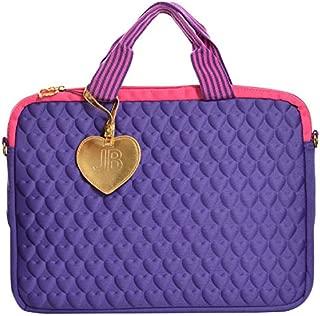Justin Bieber Fragrance Purple Heart Laptop Bag