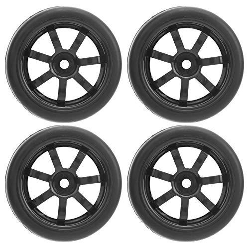 Sdfafrreg Ruedas de Goma, excelente Acabado Resistencia al Desgaste Caucho Neumáticos de Goma para Rueda de Goma para automóvil