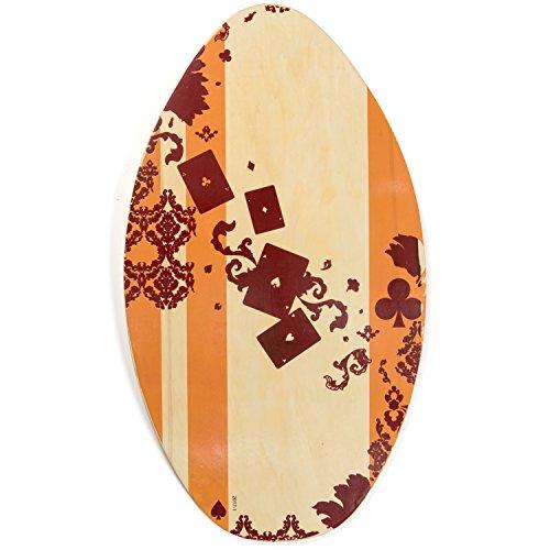 Tribe Boards Soft Foam Skimboard Beach Fun for Beginner to Intermediate skimboarders Kids and Adults Foam Boards
