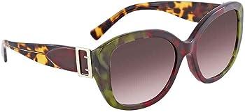 Burberry Violet Gradient Square Ladies Sunglasses