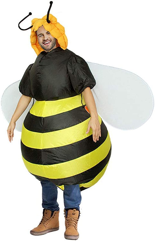 CX TECH Cosplay Aufblasbare Erwachsene Biene Kostüm Bühnenkostüm Party Karneval Lustige Neuheit Geschenk Requisiten Anzug Mens damen B07MQW4S9J  Garantiere Qualität und Quantität