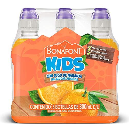 Valle Frut Naranja marca Bonafont Kids
