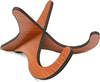 Ukulele Stand Wood Stand Folding Portable Stand for Mandolins and Violins .(Wood Ukulele Stand)
