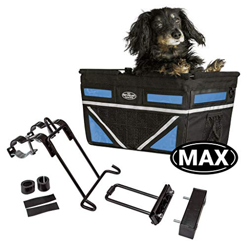 Travelin K9 Pet-Pilot MAX Dog Bicycle Basket Carrier